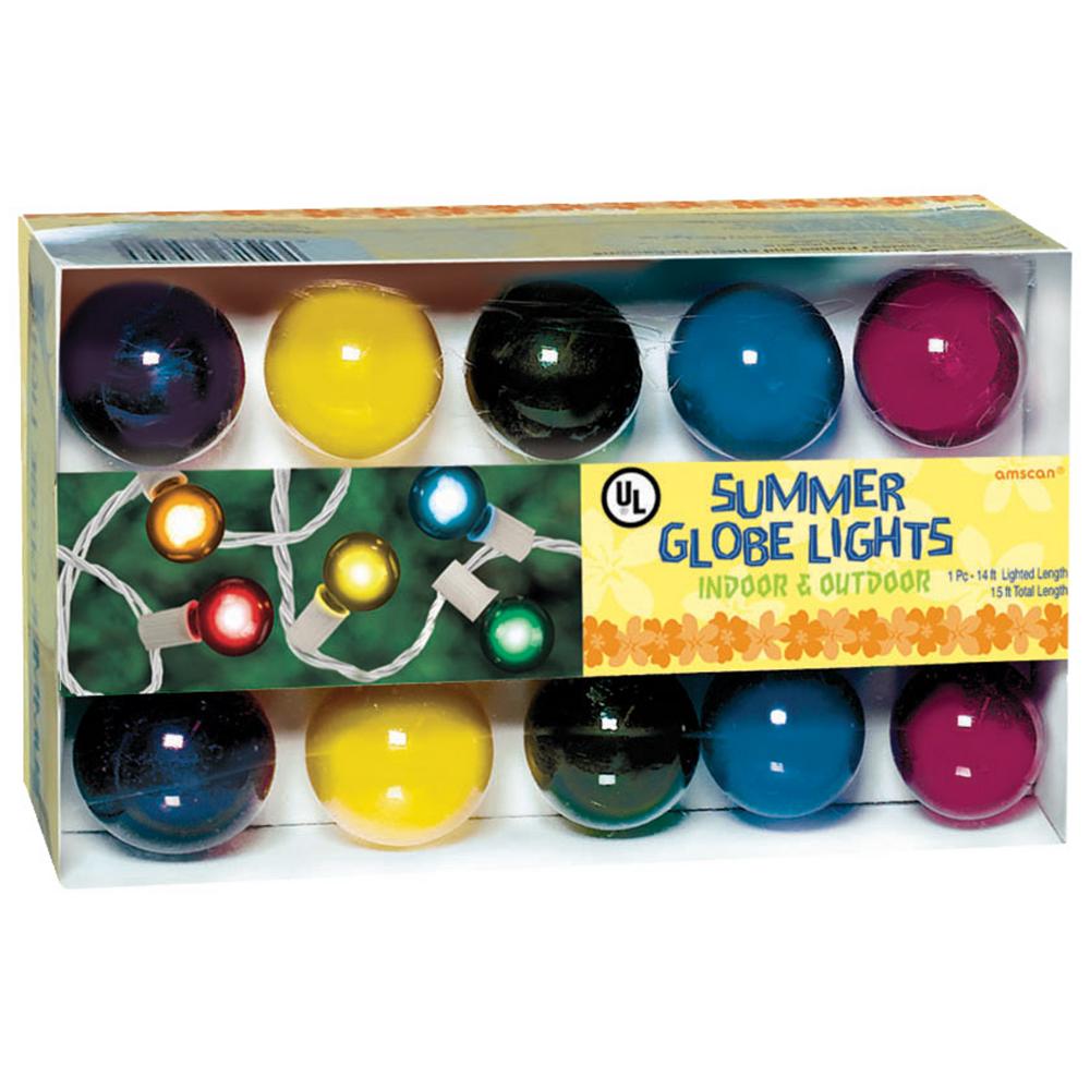 Radiant Multicolor Globe String Lights Image #2