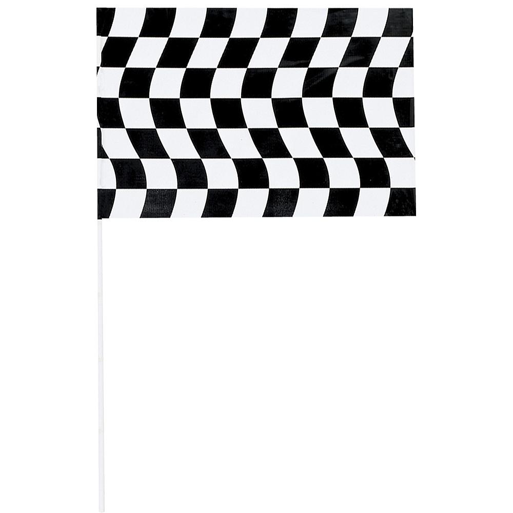 Jumbo Checkered Racing Flag Image #1