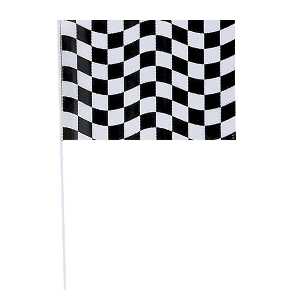 Black & White Checkered Flag Image #1