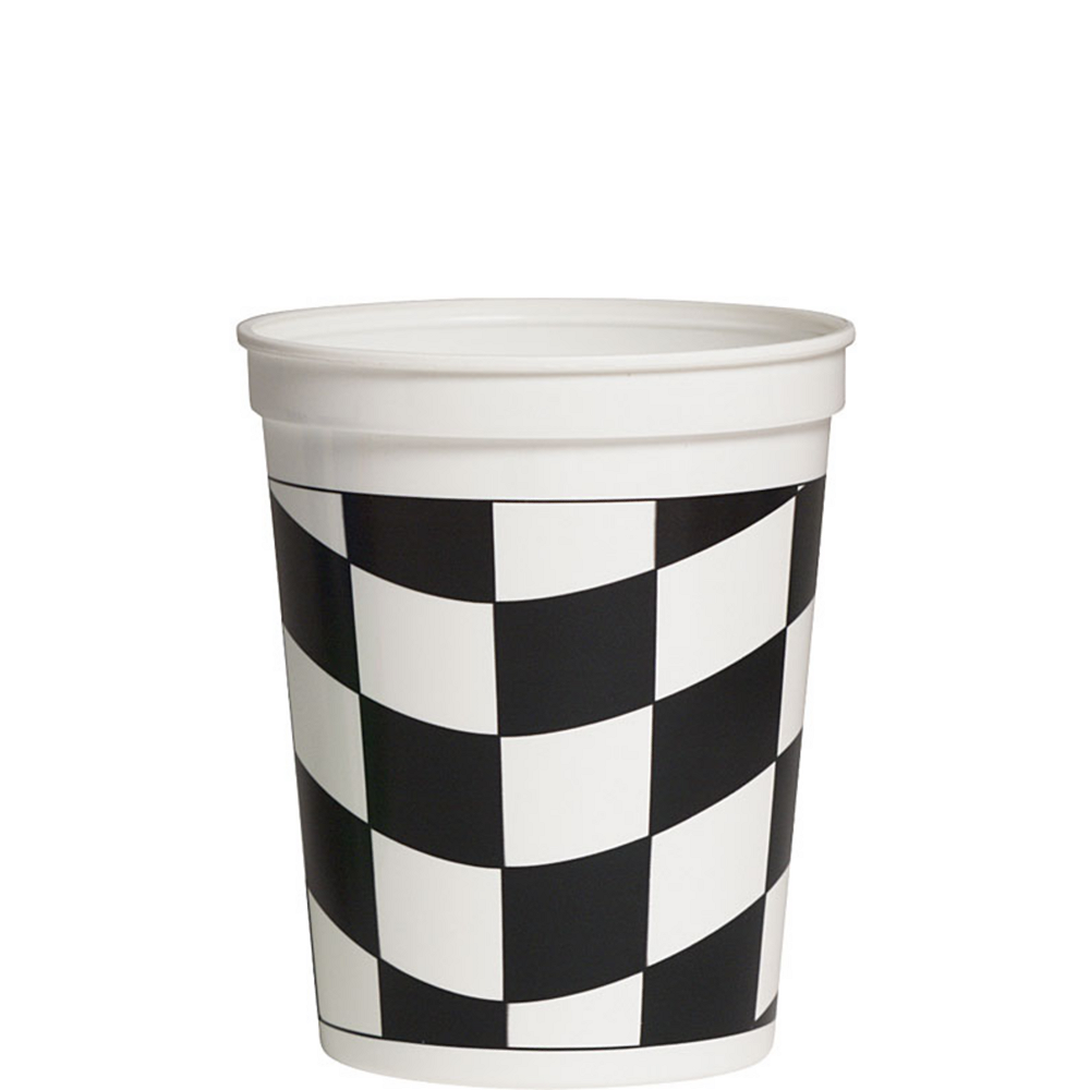 Black & White Checkered Cup Image #1