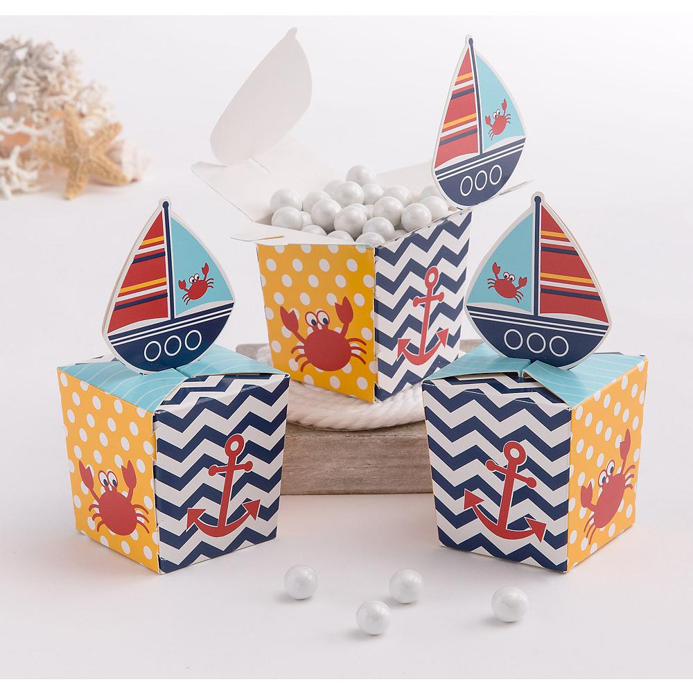 Ahoy Nautical Favor Boxes 8ct Image #1