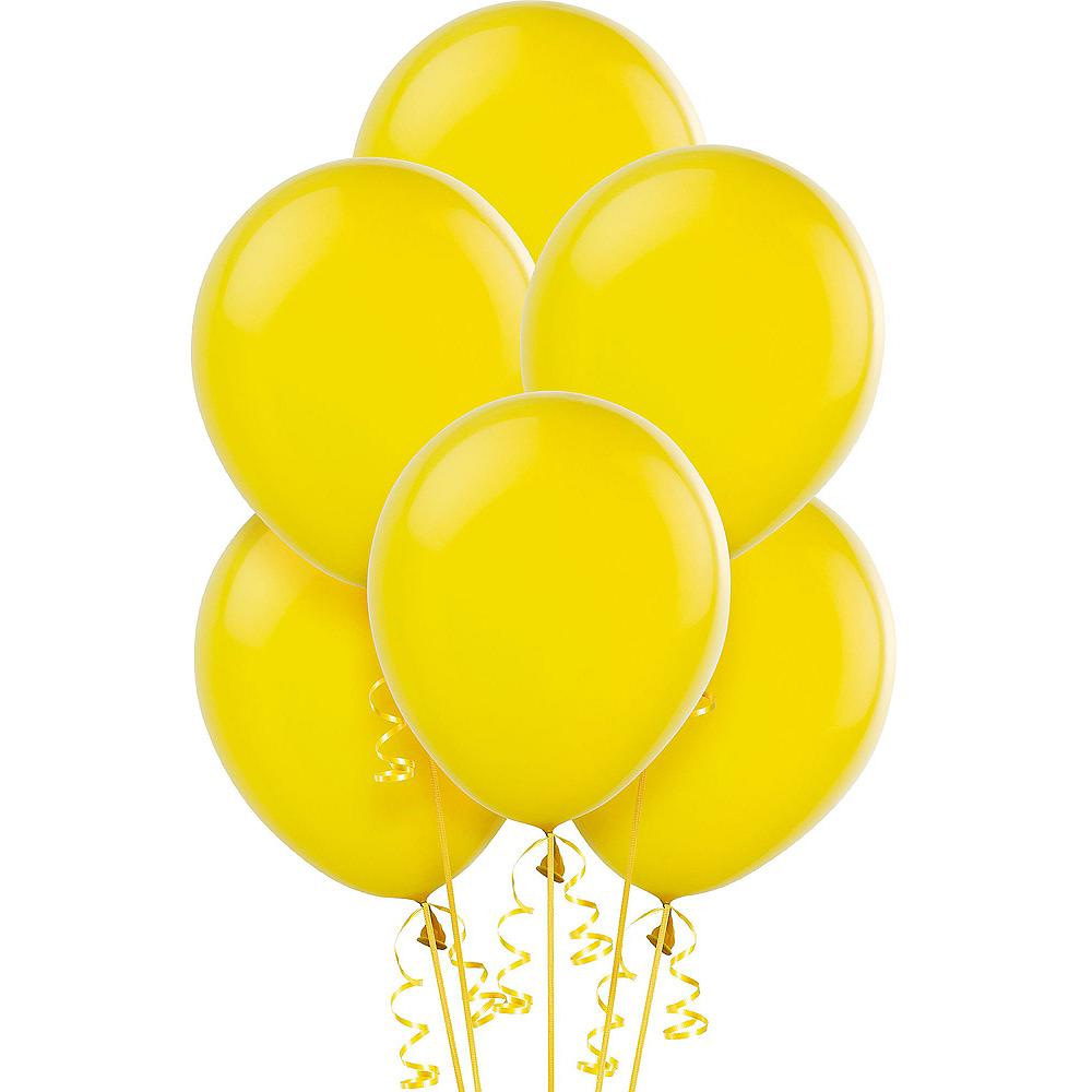 Sunshine Yellow Balloons 15ct, 12in Image #1