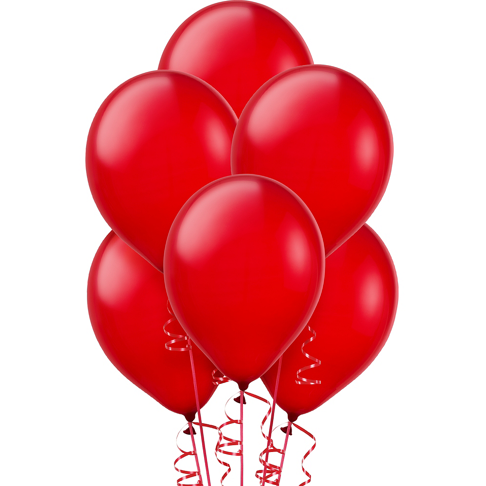 Red Balloons 15ct, 12in Image #1