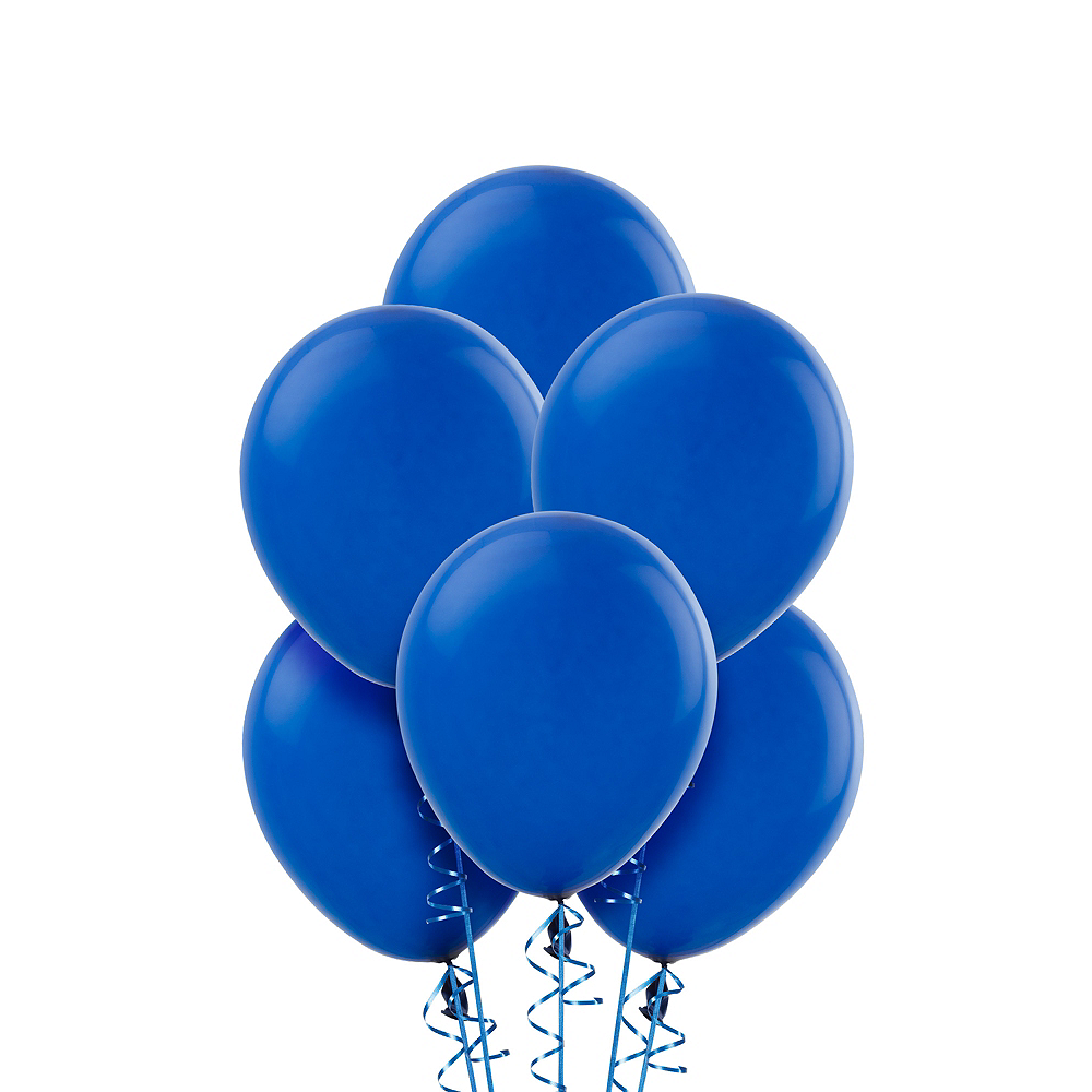 Nav Item for Royal Blue Balloons 20ct, 9in Image #1