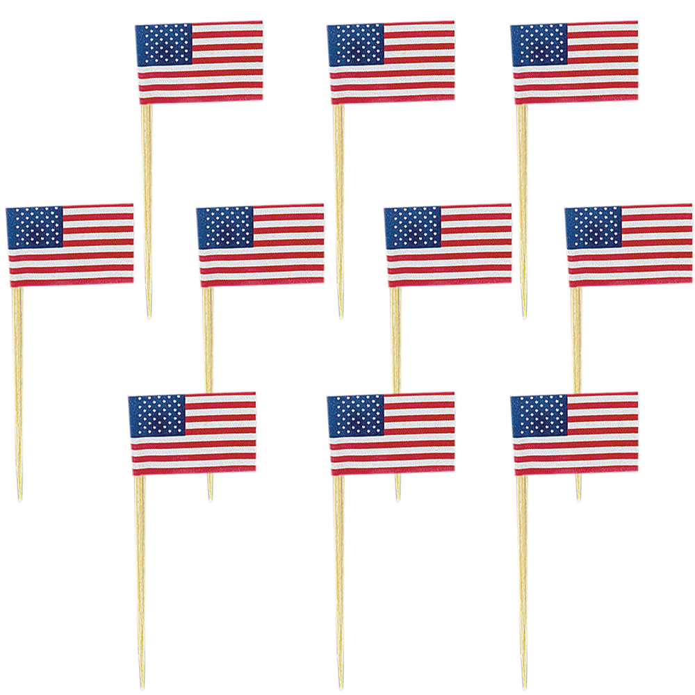 American Flag Picks 120ct Image #1