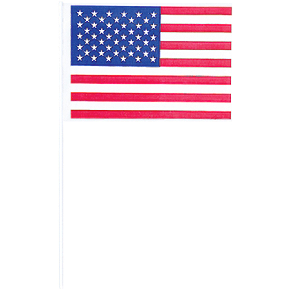 American Flag Picks 120ct Image #2
