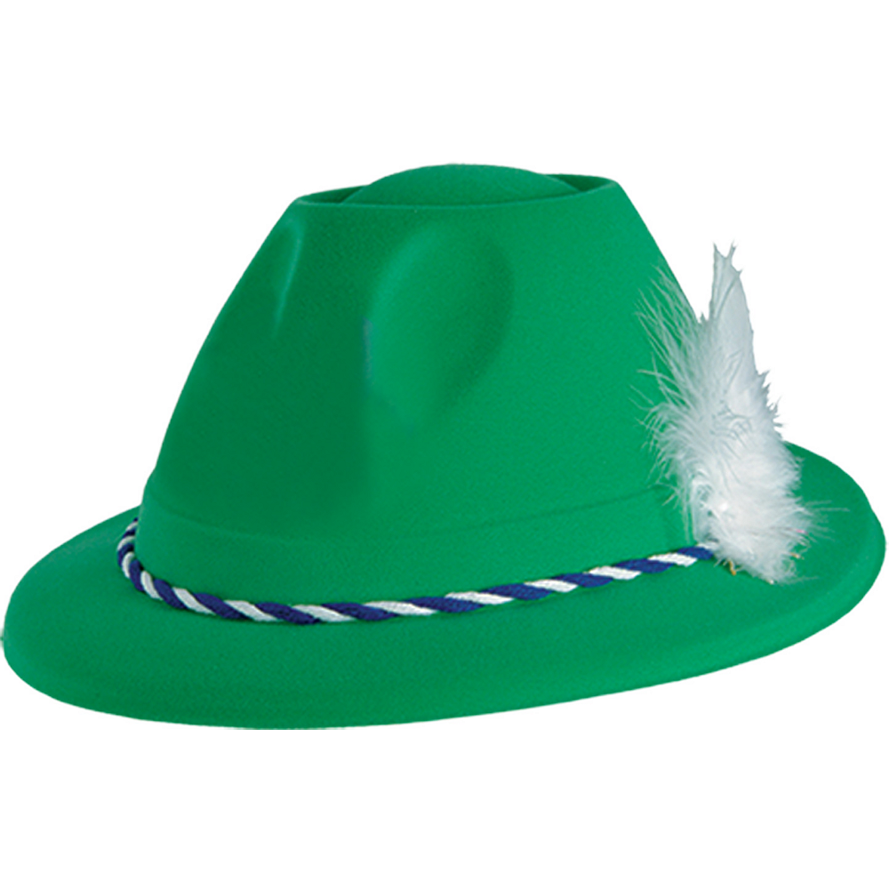 Green German Tyrolean Hat Image #1
