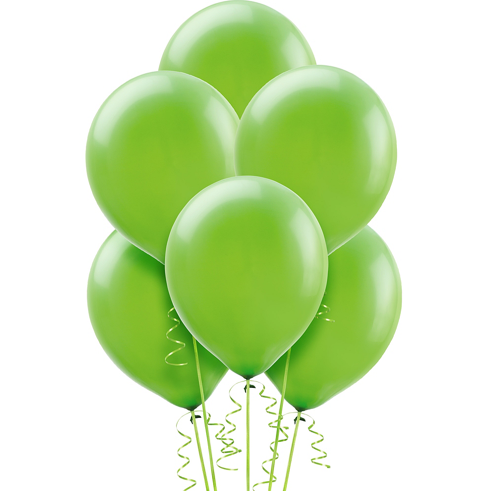 Kiwi Green Balloons 72ct, 12in Image #1