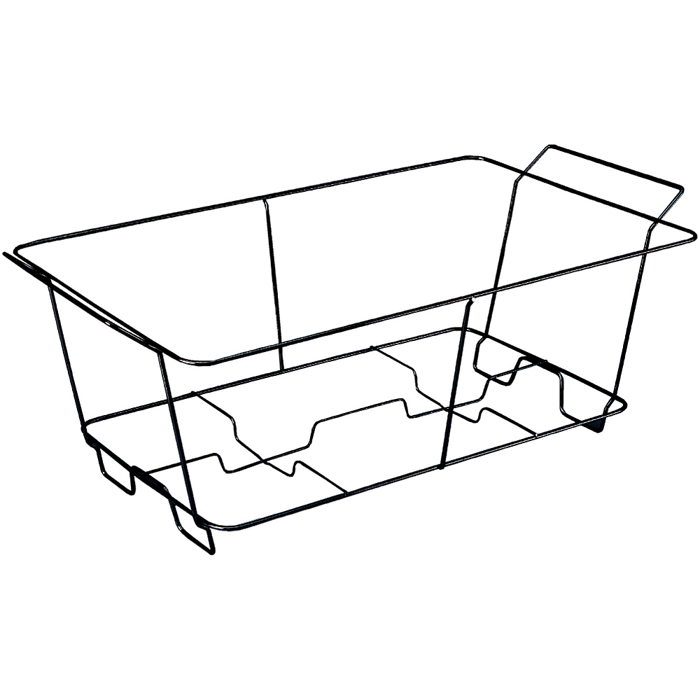 Black Wire Chafing Dish Rack Image #1