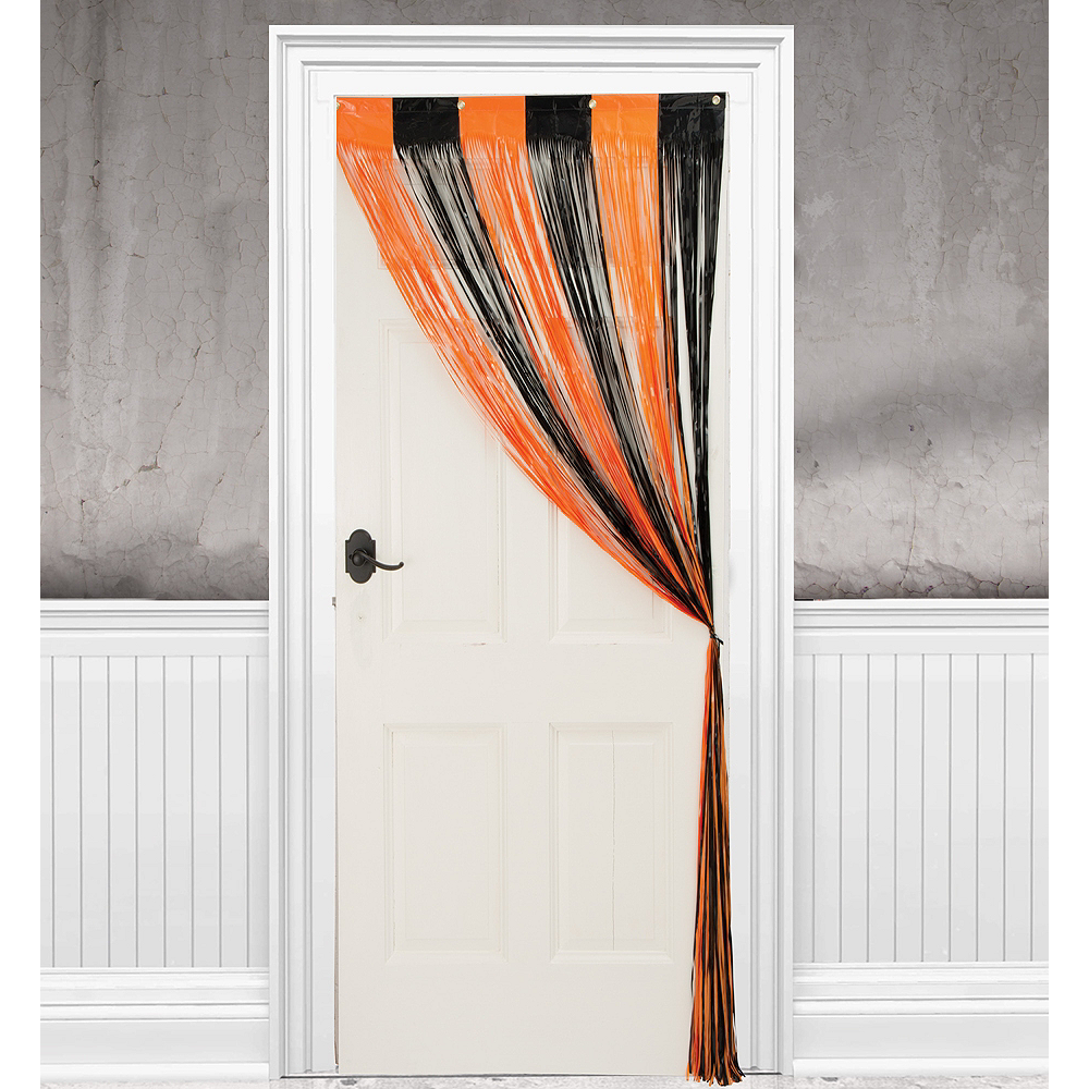 Nav Item for Halloween Fringe Doorway Curtain Image #1