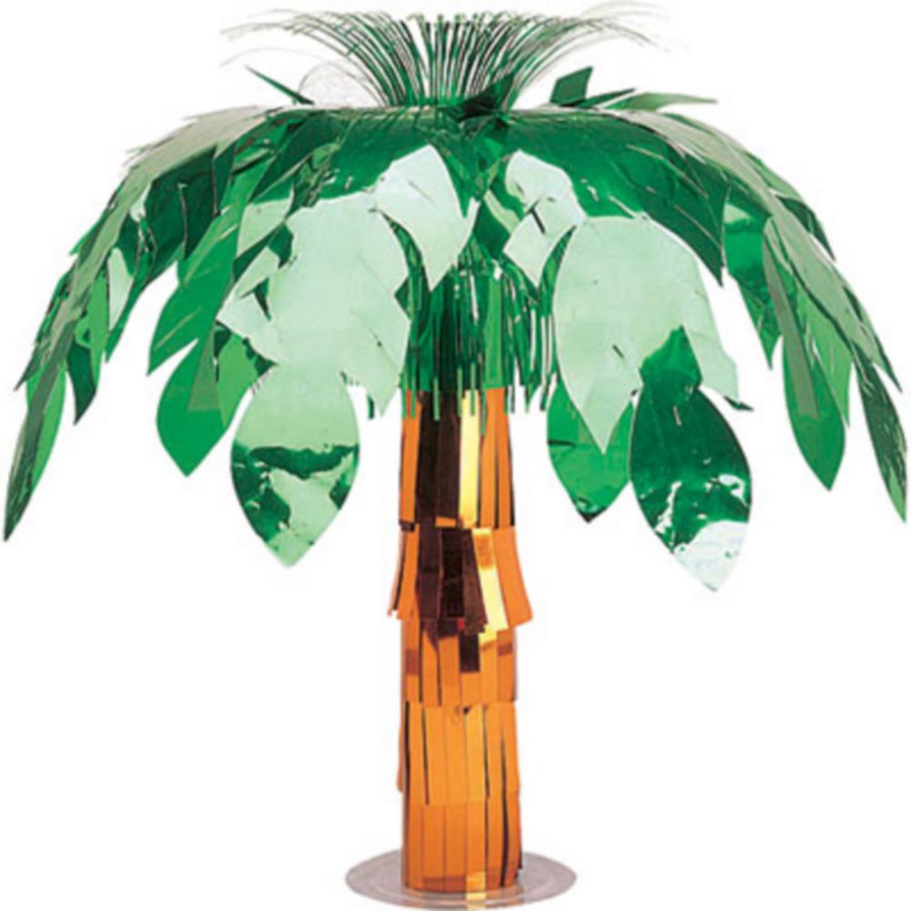 Metallic Palm Tree Centerpiece Image #1