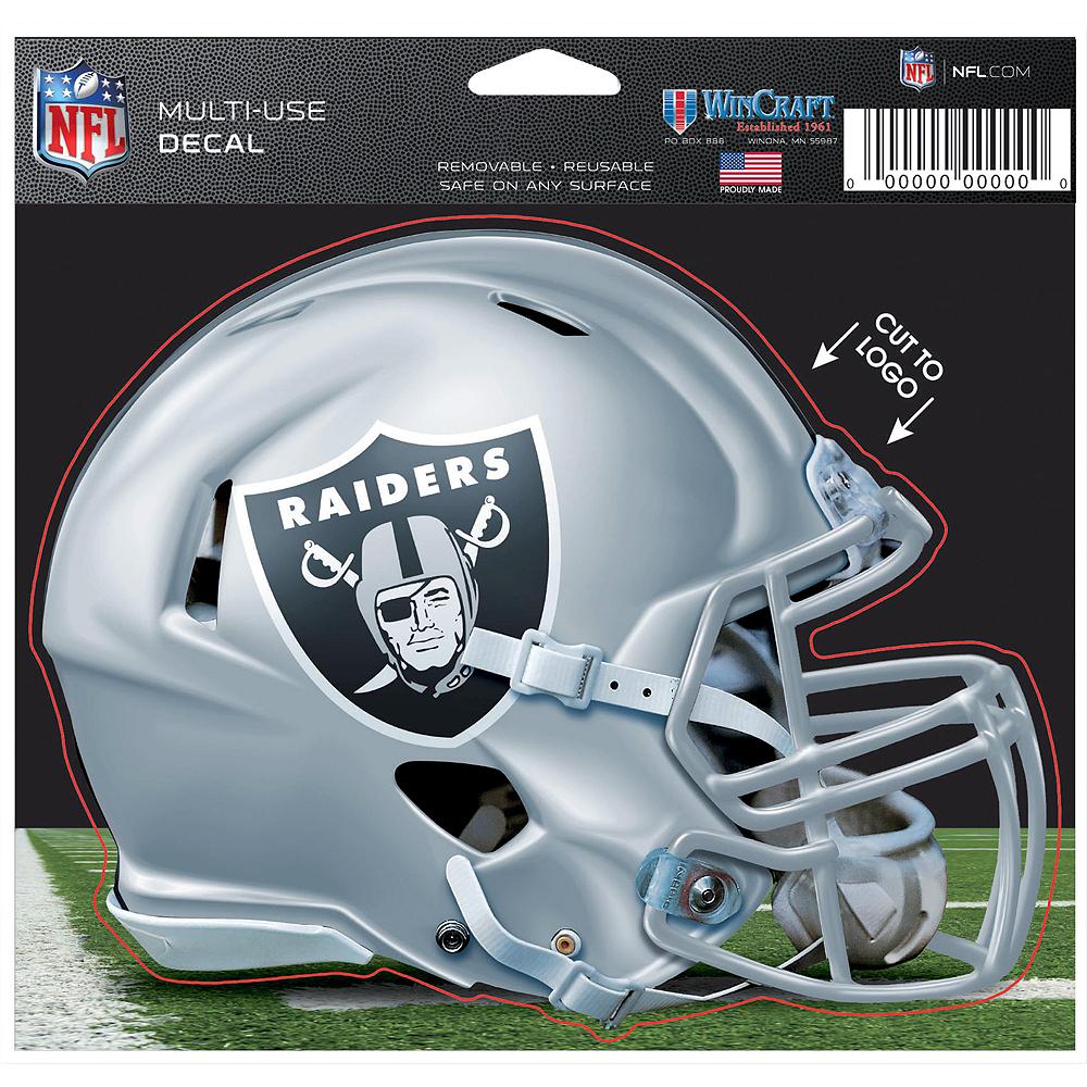 Oakland Raiders Helmet Decal Image #2