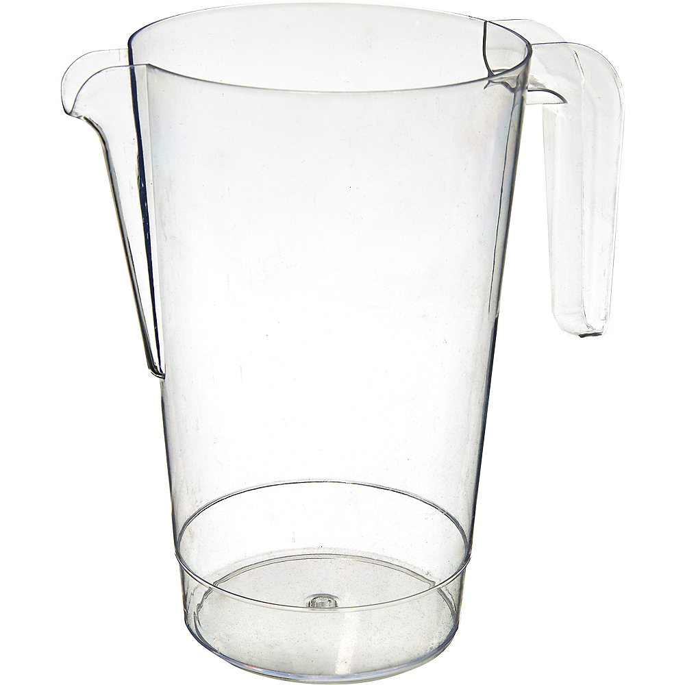 Clear Plastic Pitcher 50oz Image #1