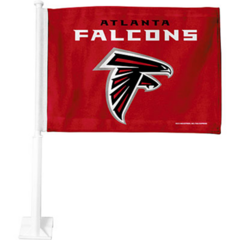 Atlanta Falcons Car Flag Image #1