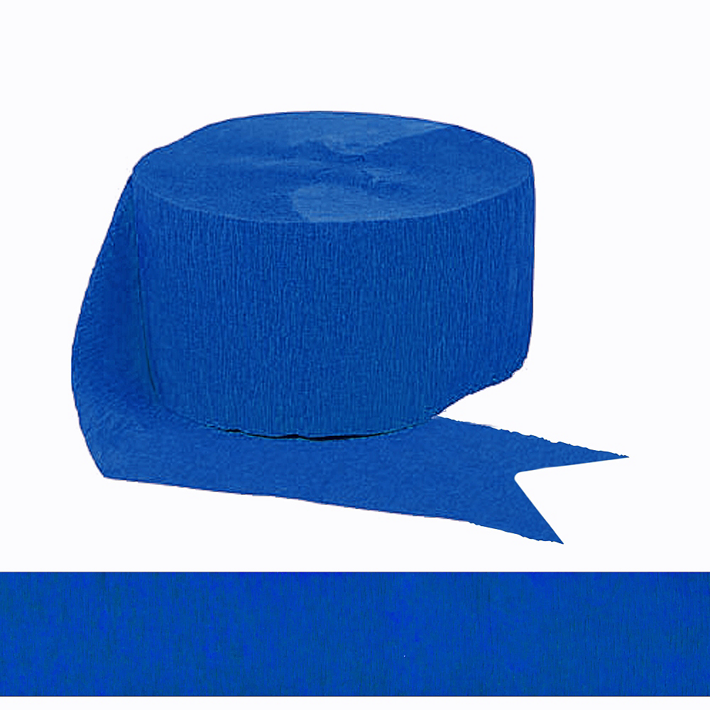 Royal Blue Streamer Image #1