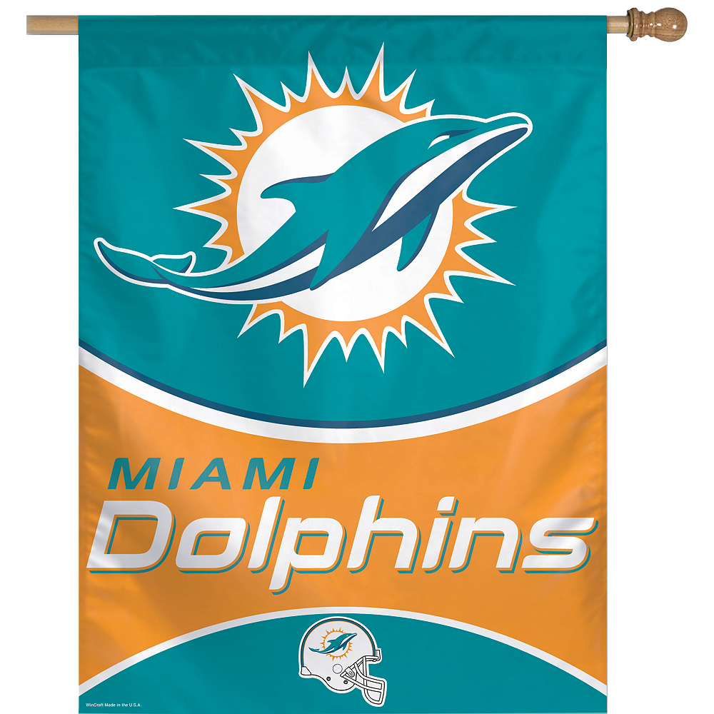 Miami Dolphins Banner Flag Image #1