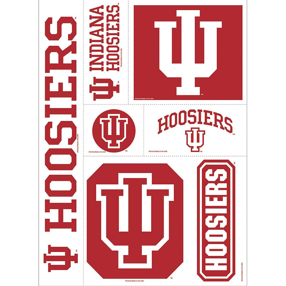 Indiana Hoosiers Decals 5ct Image #1