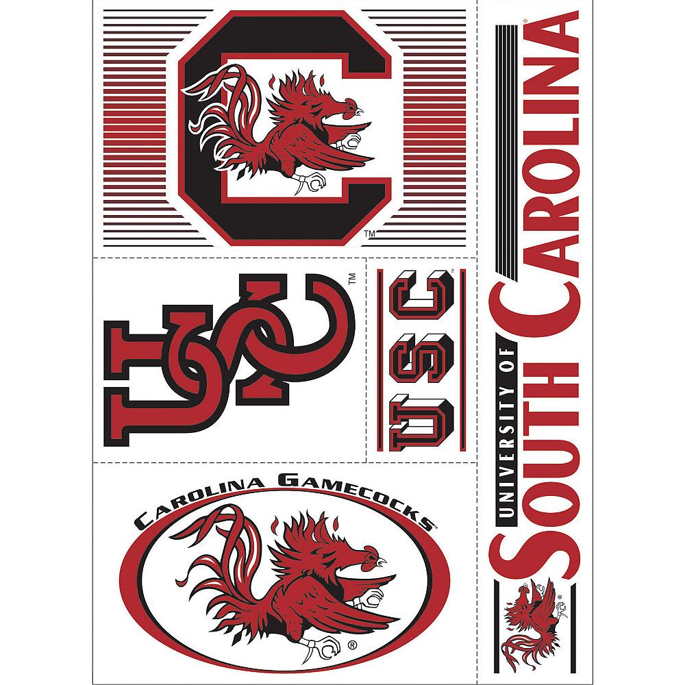 South Carolina Gamecocks Decals 5ct Image #1