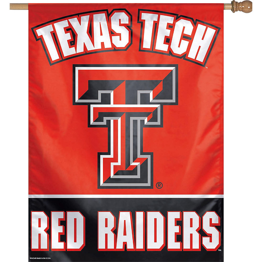 Nav Item for Texas Tech Red Raiders Banner Flag Image #1