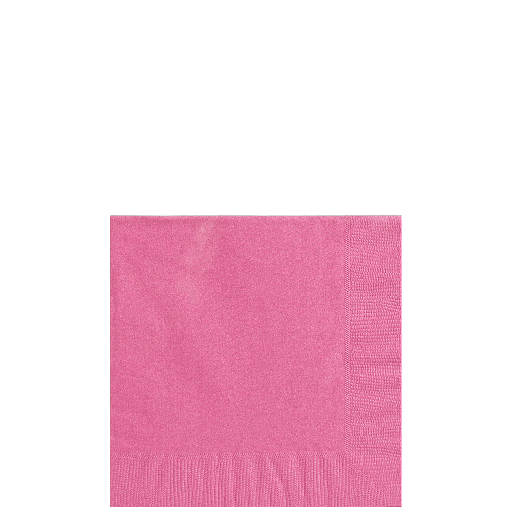 Big Party Pack Bright Pink Beverage Napkins 125ct | Party City