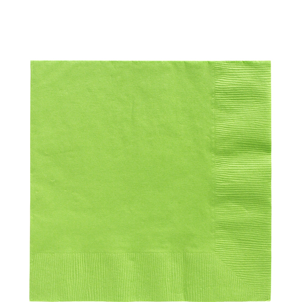 Big Party Pack Kiwi Green Lunch Napkins 125ct Image #1