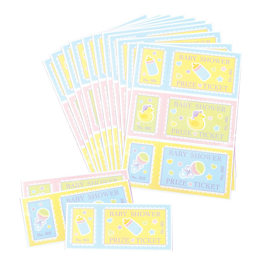 Baby Shower Prize Tickets 48ct Image #1