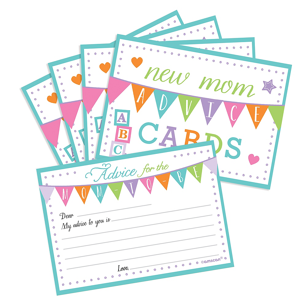 Nav Item for New Mommy Advice Cards 24ct Image #1