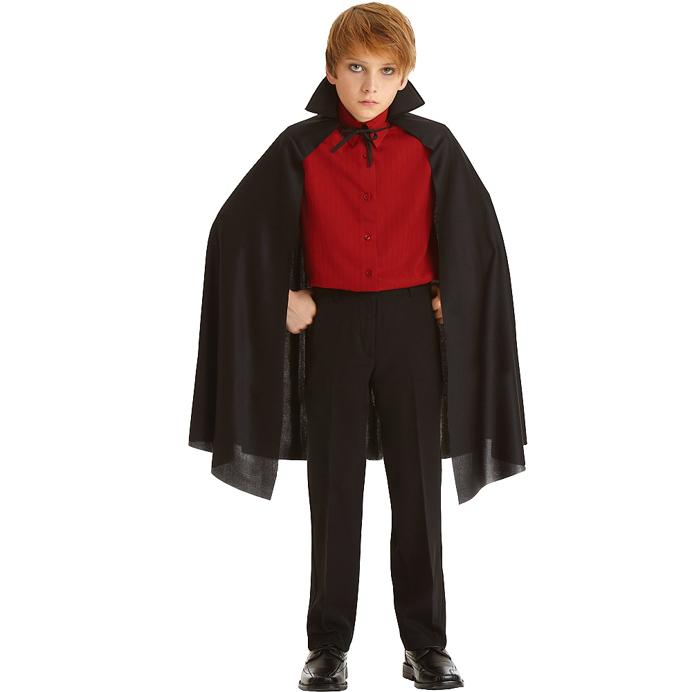 Child Black Cape Image #1