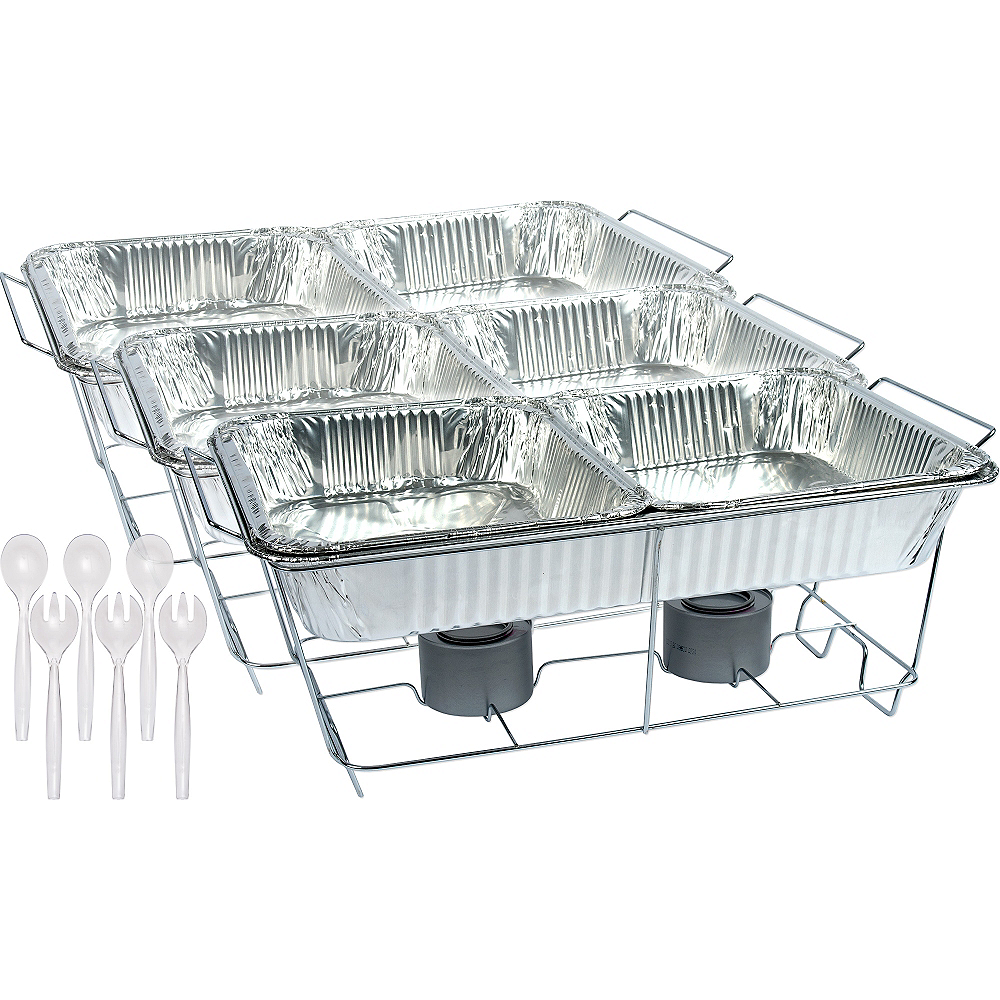 Nav Item for Chafing Dish Buffet Set 24pc Image #1