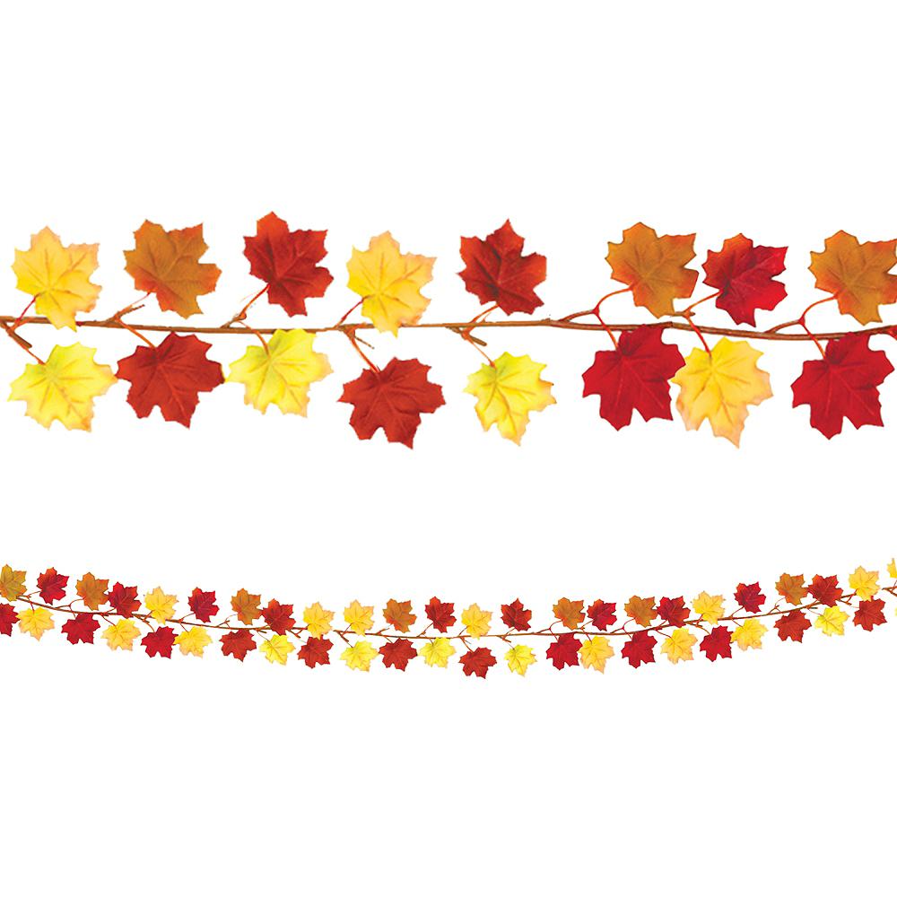 Fall Leaves Garland Image #1
