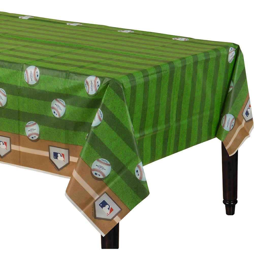 MLB Baseball Plastic Table Cover Image #1