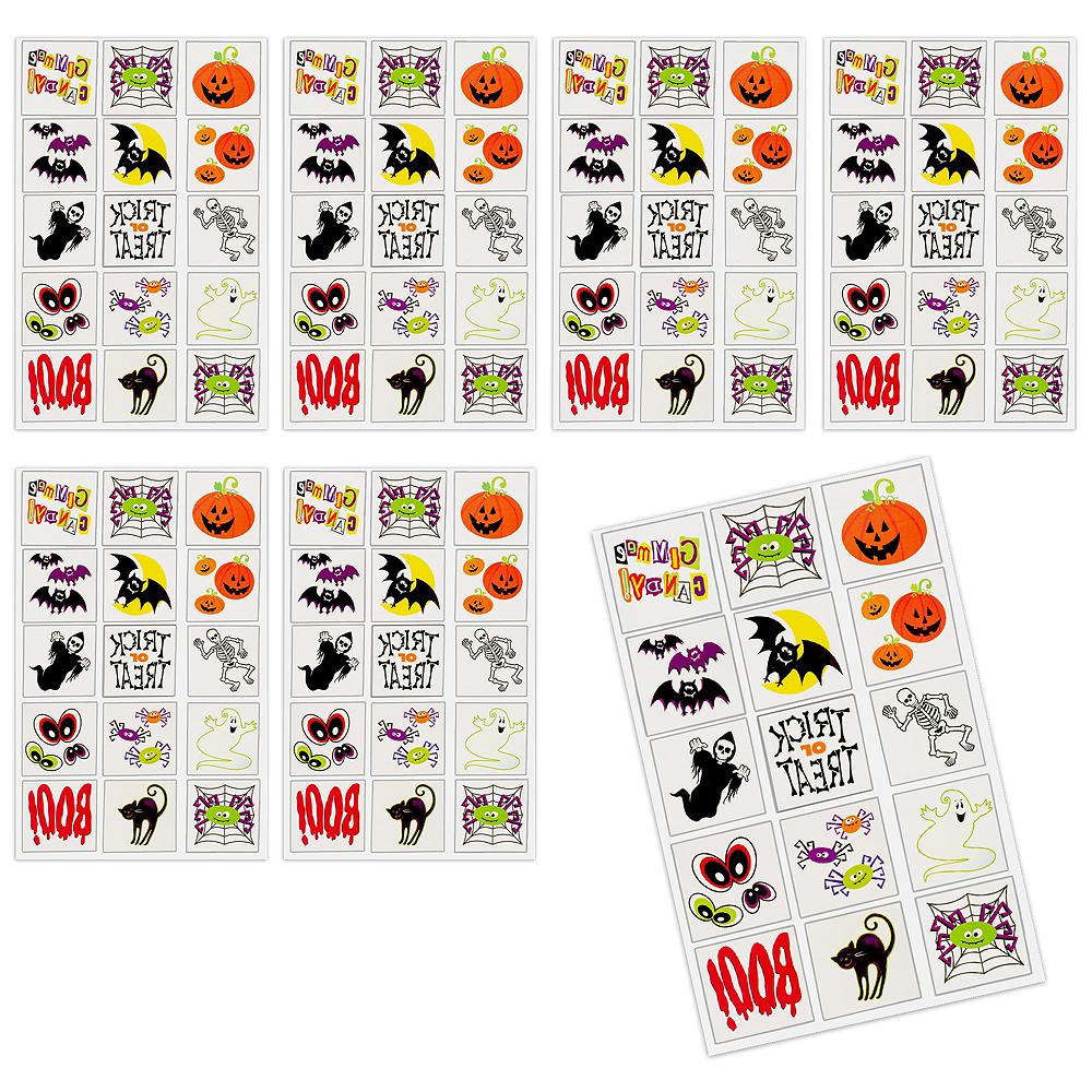 Halloween Fun Tattoos 120ct Image #1