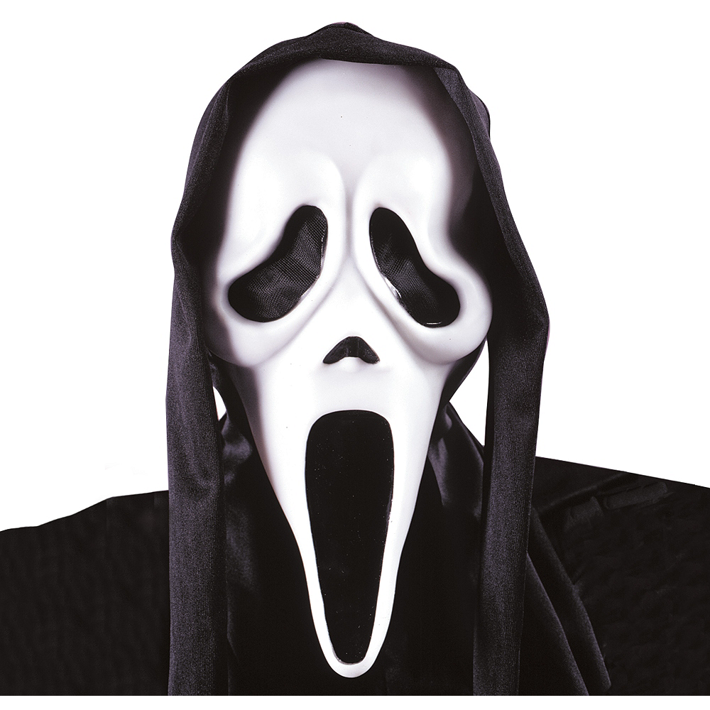 scream ghost face mask party city