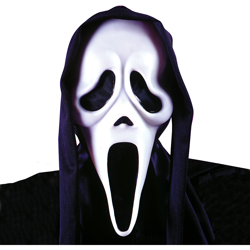 Scream Ghost Face Mask Image #2