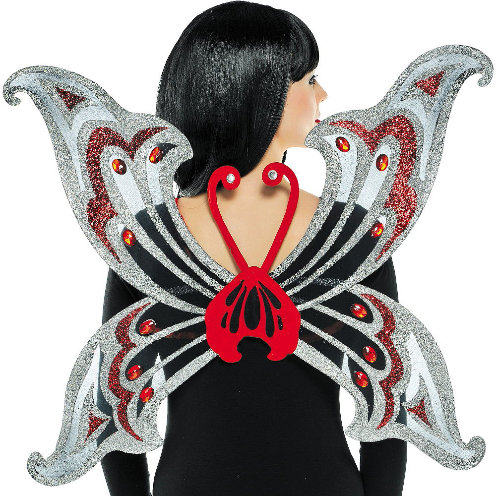 Jeweled Organza Butterfly Wings Image #1