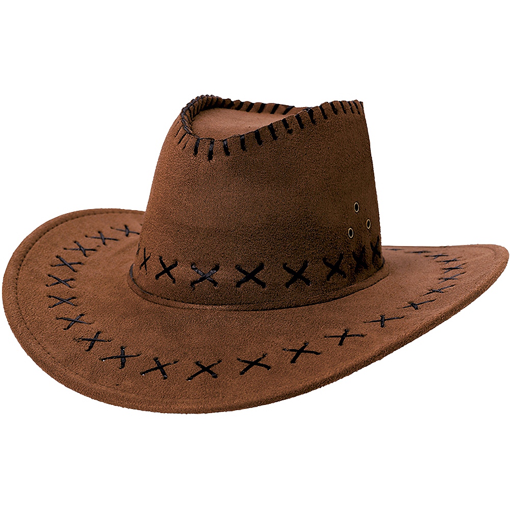 210ef238aa5b97 Suede Cowboy Hat 13in x 5in | Party City Canada