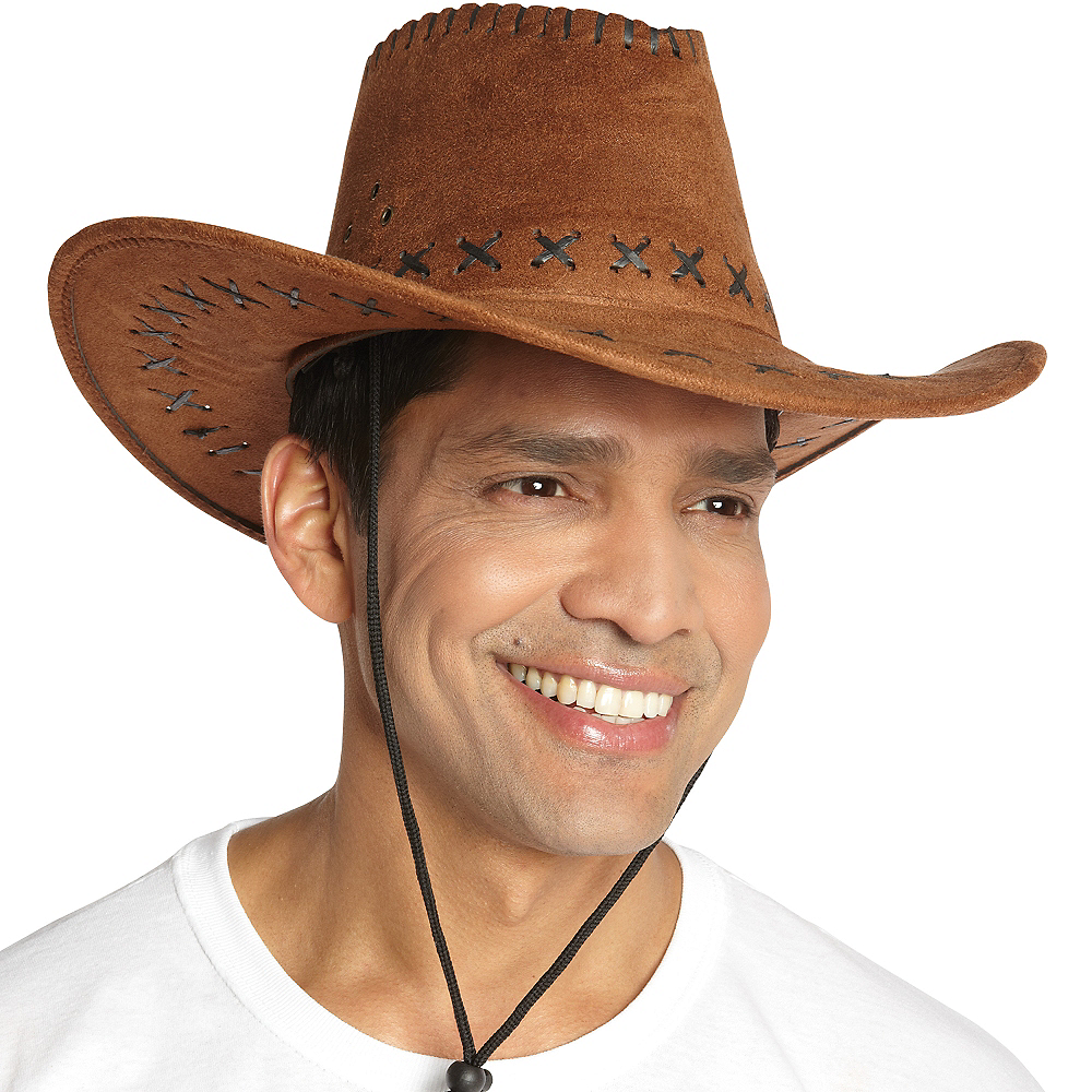 54eb97ca9be ... Nav Item for Suede Cowboy Hat Image  2 ...