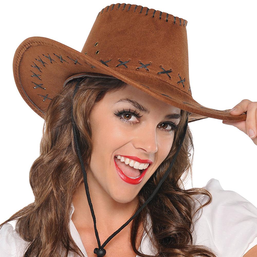 Suede Cowboy Hat Image #3