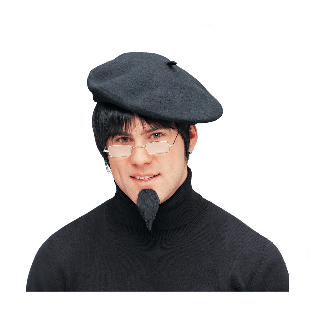52d9bf9a Classic Beret 10 1/2in | Party City