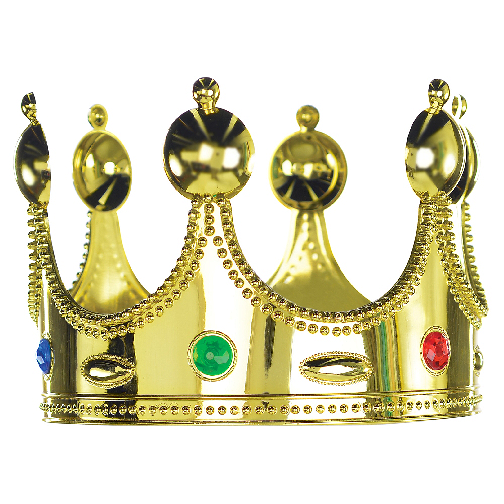 Child Jeweled King Crown Image #1