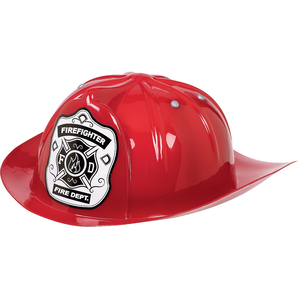 Red Firefighter Hat Image #1