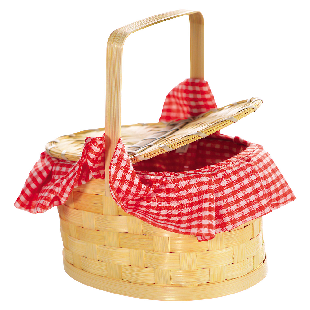 Gingham Basket Image #1