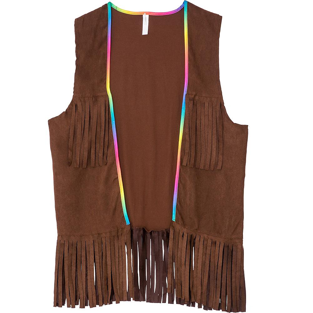 Adult Hippie Fringe Vest Image #2