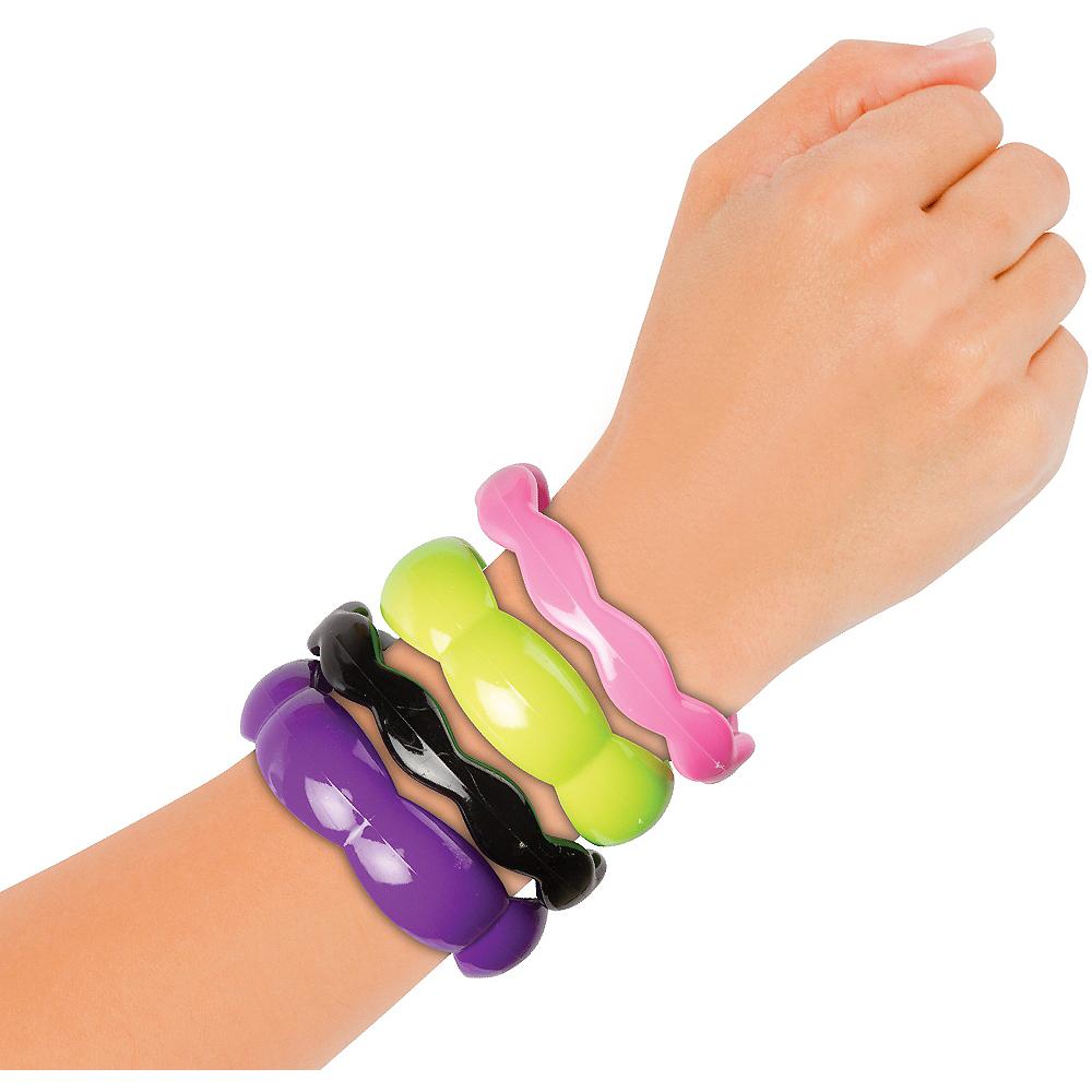 Multi-Color Bangle Bracelets Set 4ct Image #2