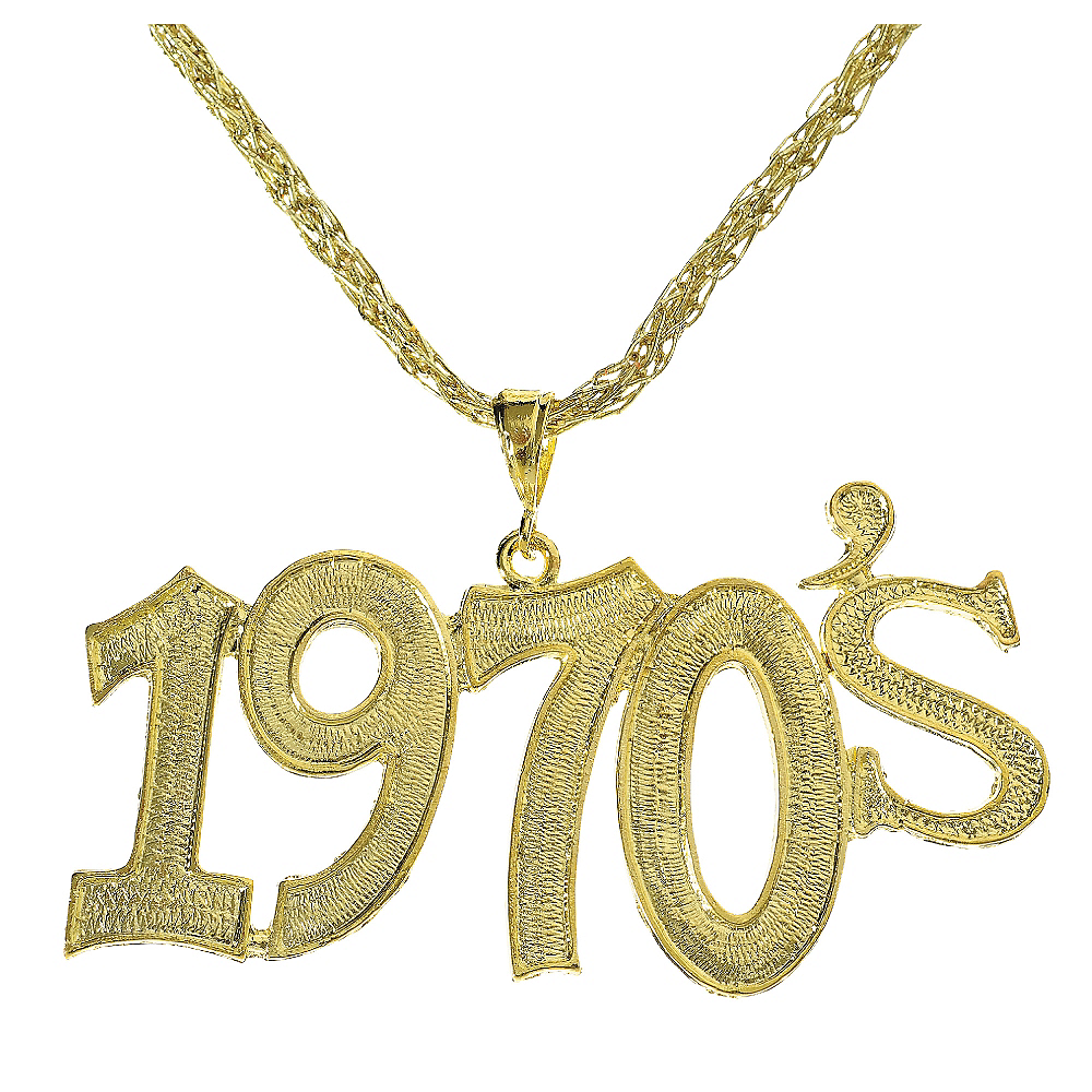 Nav Item for 1970s Disco Necklace Image #1