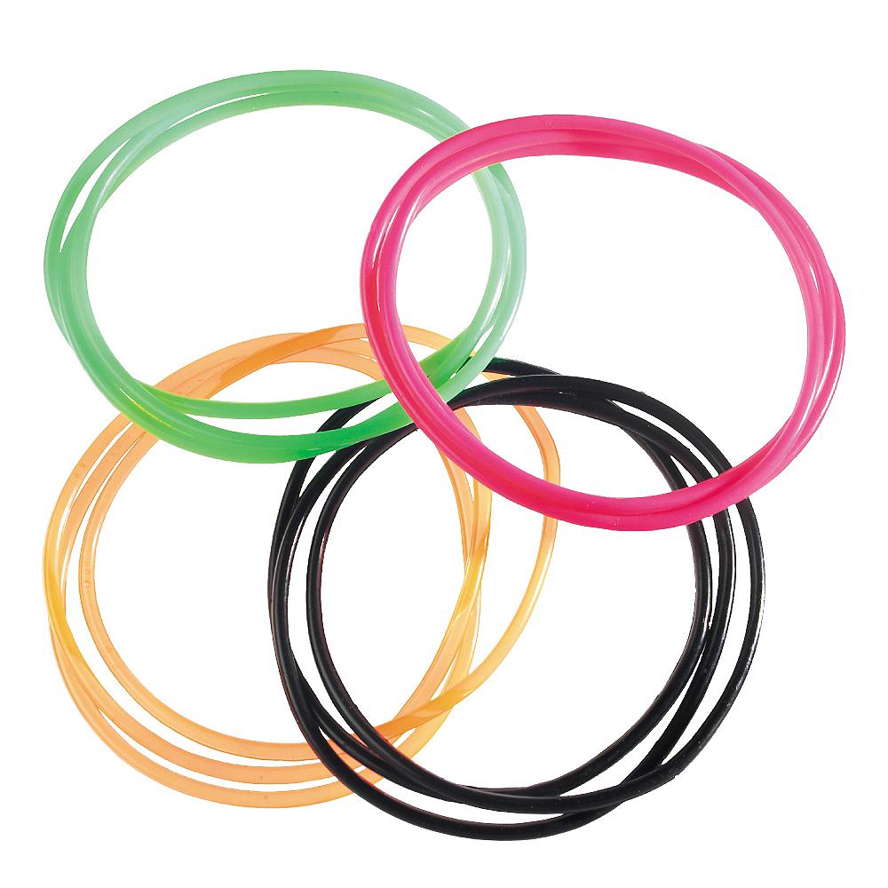 80s Jelly Bracelets12ct Image #1