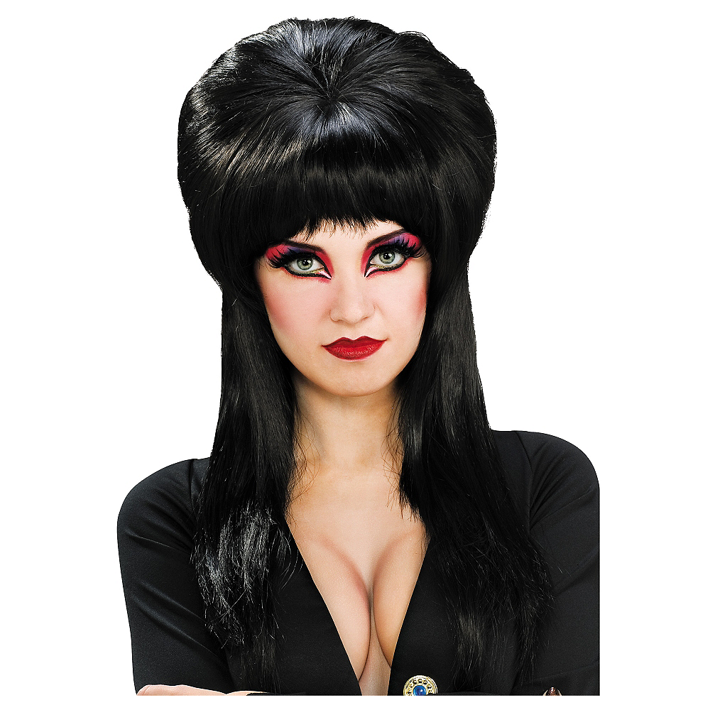 Elvira Wig Deluxe Image #1