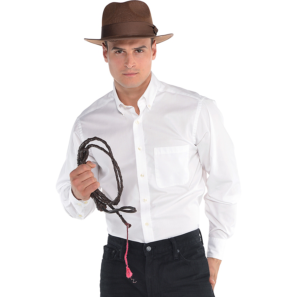 Indiana Jones Hat & Whip Set Image #1