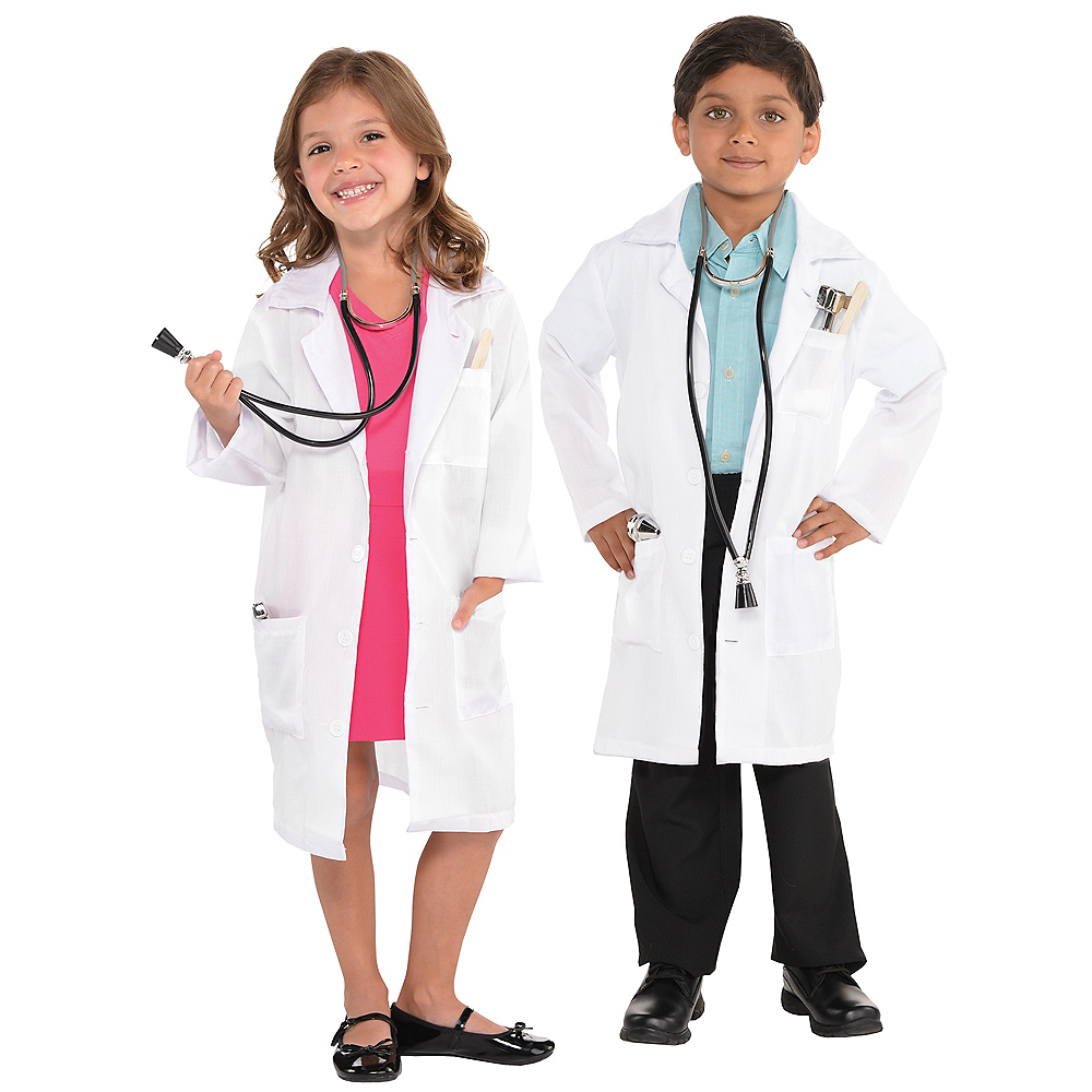 Child Doctor Lab Coat Image #1