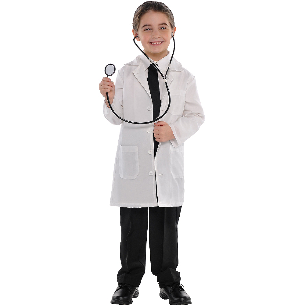 Child Doctor Lab Coat Image #3